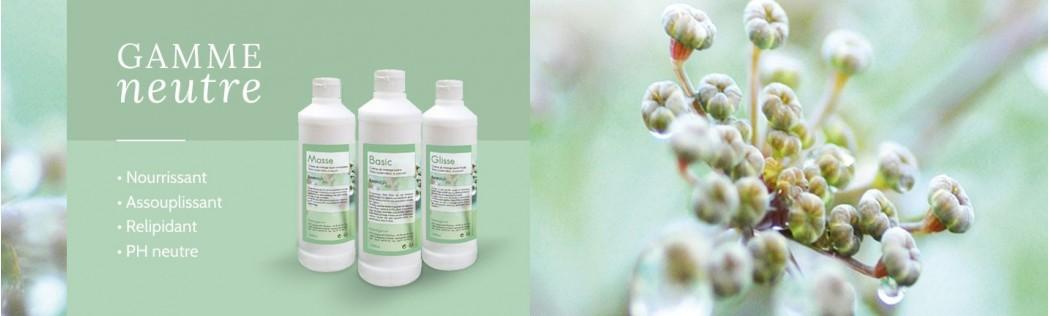 Crème Neutre pour Massage Longue Glisse - Keenergie
