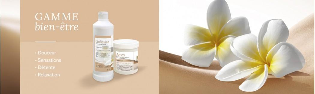 Crèmes bien-être de Massage pour Kinésithérapeute - Keenergie